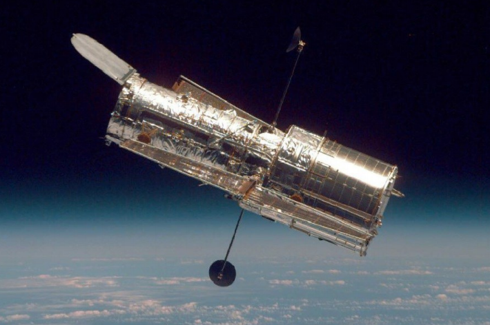 The Hubble Space Telescope, Image Credit: NASA
