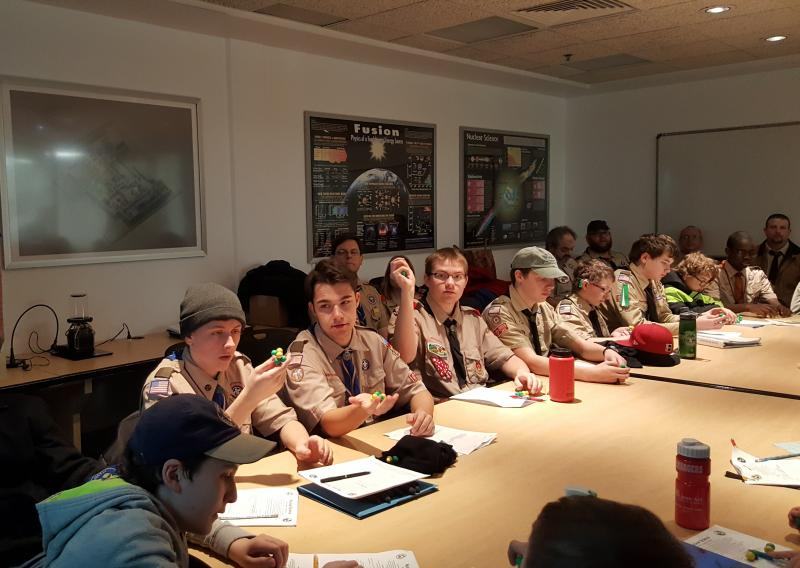 Boy Scout Nuclear Badge Workshop
