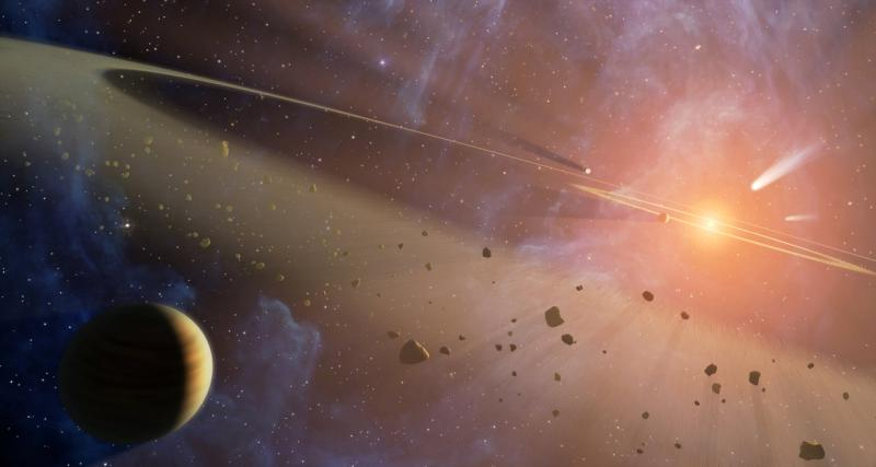 Using a nuclear accelerator to hunt for exoplanets?