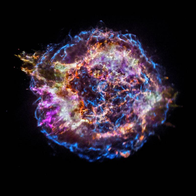 Supernova surprise creates elemental mystery